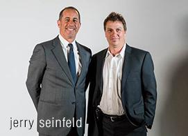 Barry Weisblatt with Jerry Seinfeld