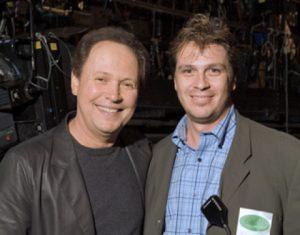 Barry Weisblatt with Billy Crystal