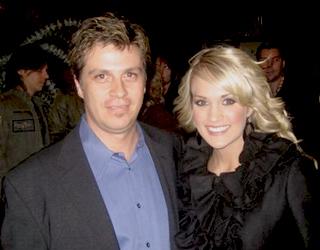 Barry Weisblatt with Carrie Underwood